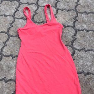 Victoria Secret Neon Pink Tee Shirt Dress